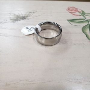 New Shiny Stainless Steel Ring